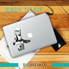 Great Britain Stormtrooper Star Wars Macbook Stickers on vinyl | Macbook Decals