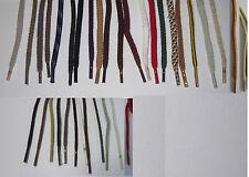 1 Paar Schnürsenkel Schuhbänder Schnürbänder viele Farben, Längen (2 Stärken)