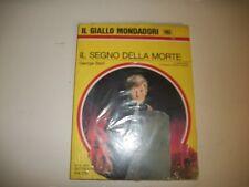 IL GIALLO MONDADORI N.1103-NUOVO SIGILLATO-GEORGE BAXT-IL SEGNO DELLA MORTE-1970