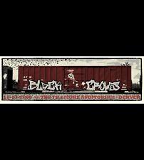 Black Crowes Fillmore silk screened Rock Poster Gig Poster Punk Denver