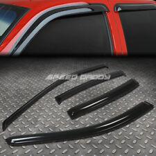 For 04-08 Acura Tl Ua6/7 Smoke Tint Window Visor/Wind Deflector Vent Rain Guard (Fits: Acura Tl)