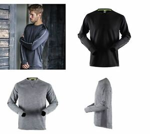 Gents Tombo TL650 Long Sleeve Base Layer Running Active Gym Top TL650