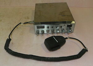 CONNEX CX-3300 HP 10 Meter/CB am/fm ruck Drivers Radio Dual Output PLEASE READ