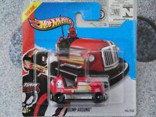 Hot Wheels 2013 #145/250 BUMP AROUND Hw racing bumper car red New casting 2013