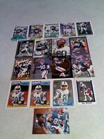 *****Bill Brooks*****  Lot of 125+ cards.....55 DIFFERENT / Football