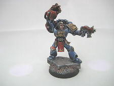 PRO PAINTED - Space Marines - Crimson Fists - Captain Alessio Cortez