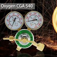 "CGA540 Pressure Oxygen Regulator Welding Gas Gauge Cutting Torch Tool 2""  Gauges"