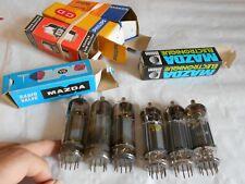 vintage valves vacuuum tubes EL504 x 6