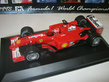 1:18 Ferrari F2001 World Champion M. Schumacher 2001 rebuilt Full tabacco in SC