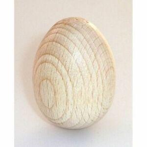 Uovo di legno cm 4 - uova in legno da decorare