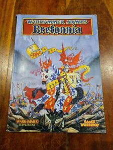 Vintage Warhammer Fantasy Battles Armies Bretonnia supplement1996 Games Workshop