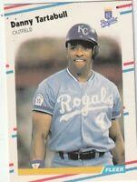 FREE SHIPPING-MINT-1988 Fleer Danny Tartabull #271 ROYALS PLUS BONUS CARDS
