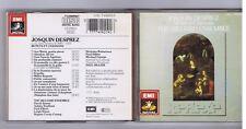 JOSQUIN DESPREZ CD MOTETS ET CHANSONS / THE HILLIARD ENSEMBLE