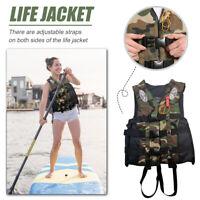 Adult Life Jacket Drifting Swimming Boating Fishing Sailing Jetski Surf Vest