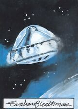 UFO Rare Graham Bleathman / UFO Sketch Card by Cards Inc