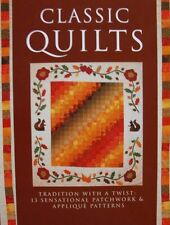 BOEK/LIVRE/BOOK : CLASSIC QUILTS (zelf te maken,courtepointes,patchwork patterns