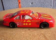 RONALD ROCKET toy 1:24 racecar McDonald's racing 1993 fast food restaurant Clown