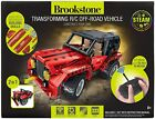 Brookstone DIY RC Car for Kids 2-in-1 Remote Control Car Kit and Building Set