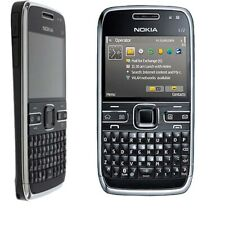"Black Color Original Unlocked 2.4"" Nokia E72 Cellphone MP3 3G QWERTY 5MP Camera"