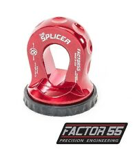 Factor 55 Splicer Shackle Mount Thimble - Red 00352-01
