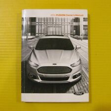 Fusion 14 2014 Ford Owner's Owners Manual OEM
