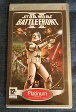Star Wars : Battlefront II - Platinum Edition Sony PSP (2006) Europe Version