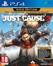 Just Cause 3 Gold Edition PS4 * NEW SEALED PAL *