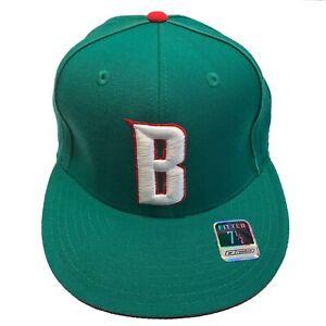 Milwaukee Bucks NBA Reebok Hardwood Classics Size 7 1/2 Fitted Cap Hat $25
