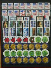 $60.00 FACE VALUE U.S.A. UNCANCELLED NO GUM STAMPS.