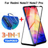 3in1 For Xiaomi Redmi Note 7 9D Tempered Glass + Camera Lens Film + Metal Ring