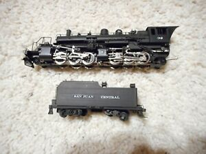 HO SCALE BRASS UNITED 2-6-6-2 STEAME ENGINE