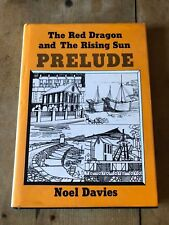 "1987 * Signé Copie * "" The Dragon Rouge & The Rising Sun Prelude "" Livre Relié"
