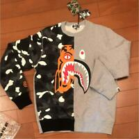 A BATHING APE BAPE SWEAT SHIRT MEN PULLOVER NEW WITH TAG LARGE L AUTHENTIC JAPAN