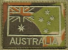 Australian Flag Patch ADF ANF Auscam Subdued Army Patch Military