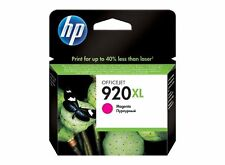 Genuine HP 920 Magenta Ink Cartridge - See Desc. for Compatiable Printers ~ NEW