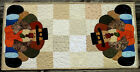 Handcrafted Quilted Appliqued Table Runner - THANKSGIVING TURKEY PILGRIM