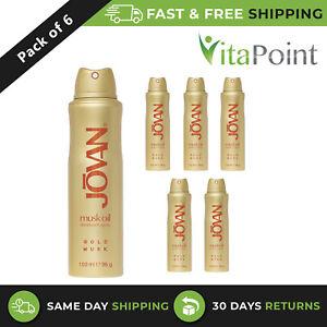 Jovan Gold Musk Oil Deodorant Spray For Women 150 ml / X6