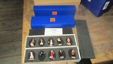 Hergé&Moulinsart-Double série Pixi-Tintin&Co+certificat-2 boites+ étui-Neuf-2004