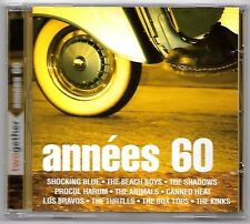 RARE DOUBLE CD / TWOGETHER ANNEES 60 / SIXTIES 40 TITRES BEST OF