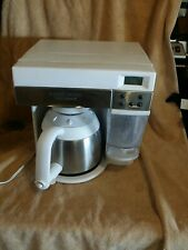 BLACK DECKER ODC 425 SpaceMaker 10-Cup Coffee White Stainless FREE SHIPPING