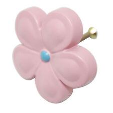 Pink Metal 52mm Flower Knob Child Kid Furniture Pull Hardware KO-6016
