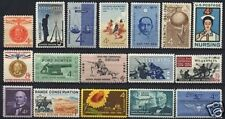 U.S. 1961 Commemorative Year Set 17 MNH Stamps