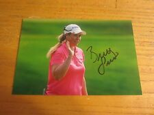 Brittany Lincicome Autographed/Signed 4X6 Photograph LPGA Golf