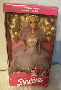 1991 Vintage Ballroom Beauty Barbie Mattel Walmart Limited Edition 3678 NRFB NIB