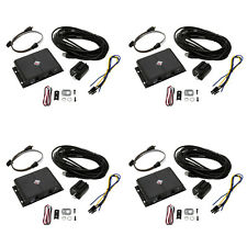 Rockford Fosgate 2 Channel Universal Punch EQ w/ Remote & Line Driver (4 Pack)