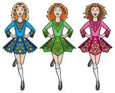 IRISH DANCING DVD & MUSIC CD, BEGINNERS IRISH DANCE, EXERCISE, FITNESS AID