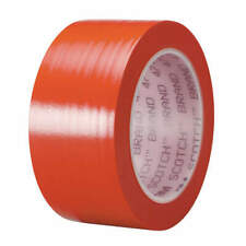 3M 471 Floor Marking Tape,1In W,108 ft. L,Red