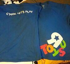 Toys R Us employee t-shirt.
