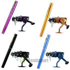 Mini Portable Pocket Fish Pen Shape Aluminum Alloy Fishing Rod Pole + Reel