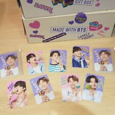 BTS x Baskin Robbins 31 Collabo Photocard From BORA BLOCK PACK Official Limited